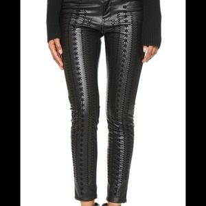 BRAND NEW Blank NYC Vegan Leather Cropped Pants